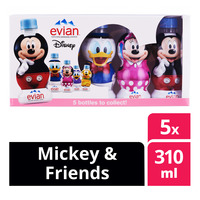 Evian Natural Mineral Bottle Water - Mickey & Friends