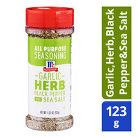 McCormick Seasoning - Garlic, Herb, Black Peper & Sea Salt