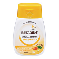 Betadine Natural Defense Hand Sanitizer - Manuka Honey
