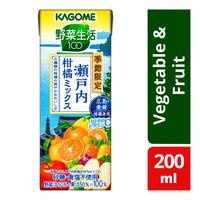 Kagome Packet Juice - Vegetable and Fruit