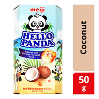 Meiji Hello Panda Biscuits - Coconut