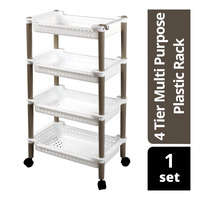 Imported 4 Tier Multi Purpose Plastic Rack