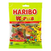 Haribo Gummy Candies - Worms