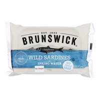 Brunswick Wild Sardines - Spring Water (No Added Salt)