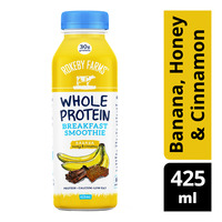 Rokeby Farms Whole Protein Smoothie - Banana, Honey & Cinnamon
