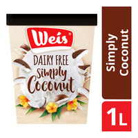 Weis Dairy Free Ice Cream - Simply Coconut