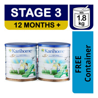 Karihome Goat Milk Growing Up Formula - Stage 3 + Container