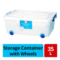 HomeProud Storage Container with Wheels