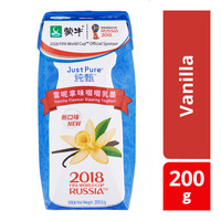 Monmilk Just Pure Yoghurt Packet Drink - Vanilla