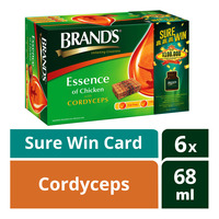Brand's Essence of Chicken - Cordyceps + Sure Win Card