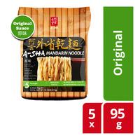 A-Sha Instant Mandarin Noodle - Original