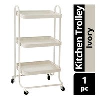Imported Kitchen Trolley - Ivory