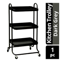 Imported Kitchen Trolley - Dark Grey