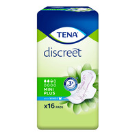 TENA Lady Discreet Pads - Mini Plus with Wings