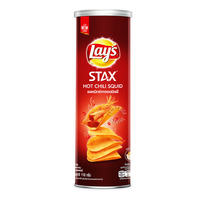 Lay's Stax Potato Chips - Hot Chili Squid