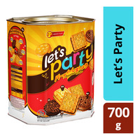 Shoon Fatt Assorted Biscuits - Let's Party (Tin)