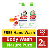 Lifebuoy Antibacterial Body Wash - NaturePure+HandWash
