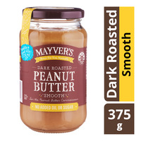 Mayver's Dark Roasted Peanut Butter - Smooth