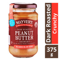 Mayver's Dark Roasted Peanut Butter - Crunchy