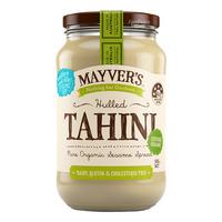 Mayver's Organic Tahini Spread - Hulled