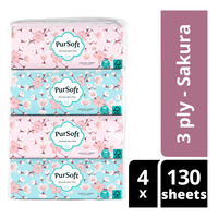 PurSoft Tissue Soft Pack - Sakura (3ply)