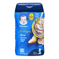 Gerber Baby Rice Cereal - Banana & Apple