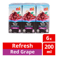 Minute Maid Refresh Packet Juice Drink - Red Grape