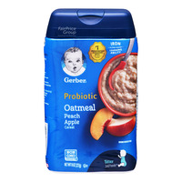 Gerber Baby Oatmeal Cereal - Peach & Apple