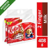 Nestle Kit Kat 2 Finger Chocolate Bar - Milk + Bear