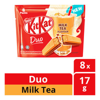 Nestle Kit Kat Duo Chocolate Bar - Milk Tea