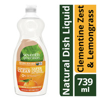 Seventh Generation Dish Liquid - Clementine Zest & Lemongrass