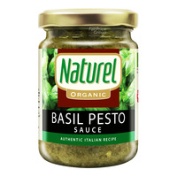 Naturel Organic Basil Pesto Sauce