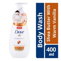 Dove Shower Foam - Shea Butter with Warm Vanilla