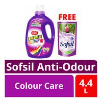 UIC Big Value Liquid Detergent - Colour Care + Sofsil