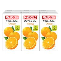 Marigold 100% Packet Juice - Orange