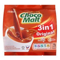 Tesco Choco Malt 3 in 1 Instant Drink - Original