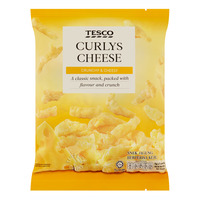 Tesco Curlys Corn Snack - Cheese
