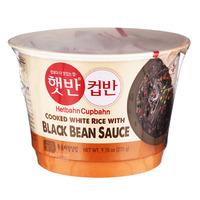 CJ Hetbahn Cupbahn Instant Rice Bowl - Black Bean Sauce