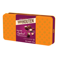 Van Houten Milk Chocolate Gift Tin - Assortment