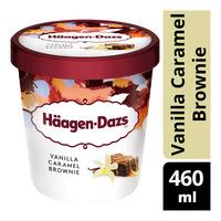 Haagen-Dazs Ice Cream - Vanilla Caramel Brownie