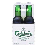 Carlsberg Bottle Beer - Smooth Draught