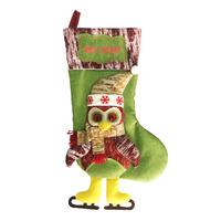 Imported Christmas Socking - Owl