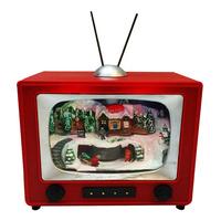 Imported Christmas Musical Box Display