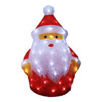 Imported Lighted Santa
