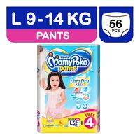 MamyPoko Extra Dry Skin Girl Pants - L (9-14kg)