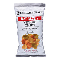 The Daily Craze Veggie Chips - Barbecue