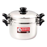 Zebra Stainless Steel Steaming Set - 24cm