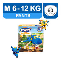 Drypers Drypantz Pants - Super Wings M (6 - 12kg)