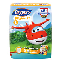 Drypers Drypantz Pants - Super Wings L (9 - 14kg)