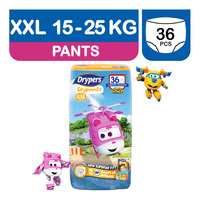 Drypers Drypantz Pants - Super Wings XXL (15 - 25kg)
